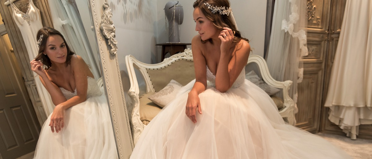 Book a bespoke wedding accessories appointment with Gillian Million