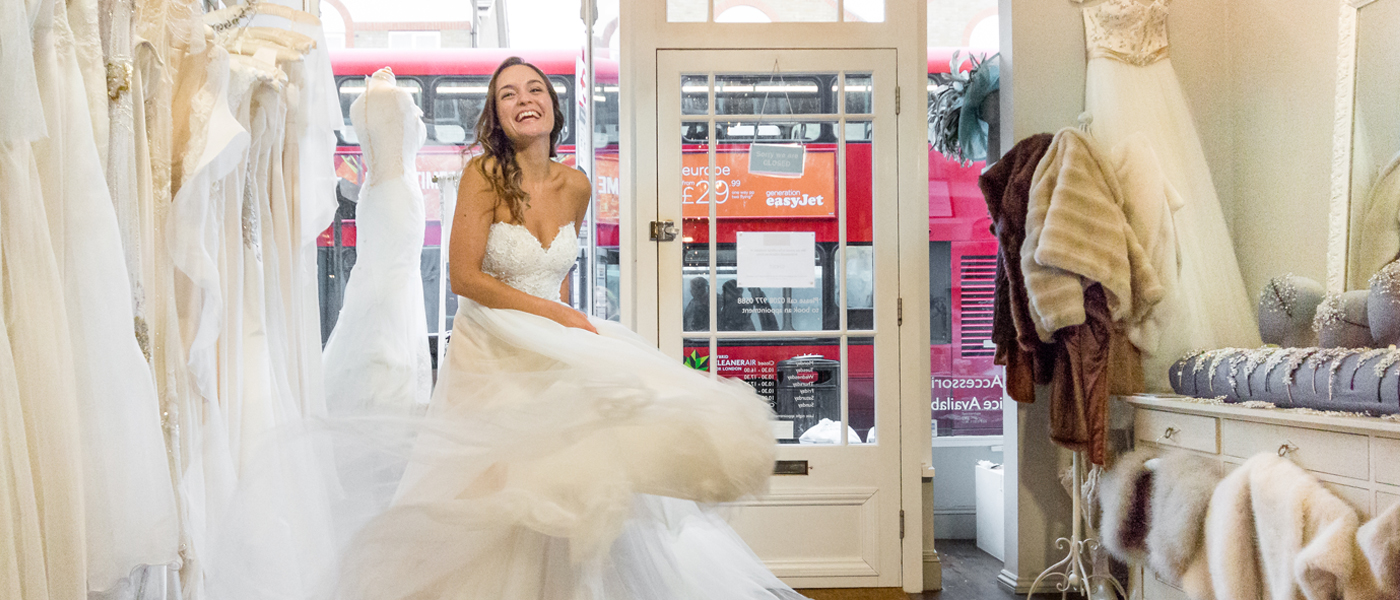Designer Wedding Dress Agency in London - The Collection